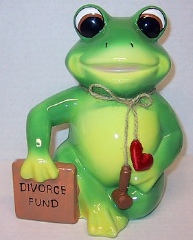 Divorce Fund Frog Bank