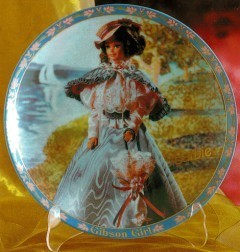 Gibson Girl Barbie Limited Edition Porcelain Plate