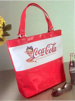 Betty Boop Coca-Cola Star Spangled Refreshment Tote Bag