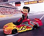 Betty Boop Race Car Trinket Box
