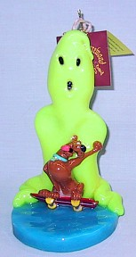 Scooby Doo With Ghost Candle - Yellow