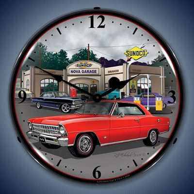 1967 Nova Lighted Wall Clock