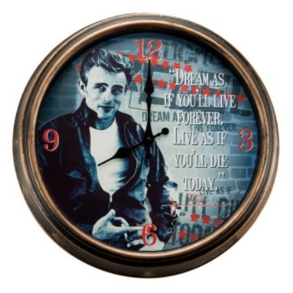 James Dean Large Wall Clock