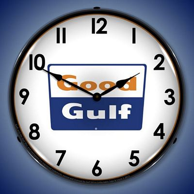 Good Gulf Lighted Wall Clock - GOODGULF