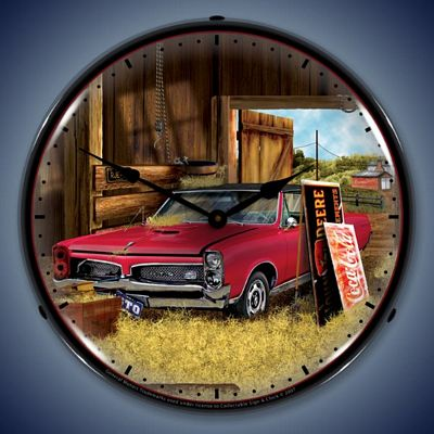 Hidden Treasure Gto Lighted Wall Clock