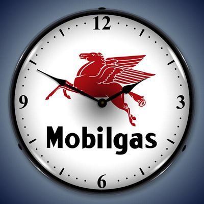 Mobilegas Lighted Wall Clock