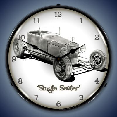 Single Seater Lighted Wall Clock