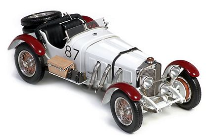 1931 Mercedes-Benz SSKL Mille Miglia Die-Cast 1:18 Scale Model Car by CMC