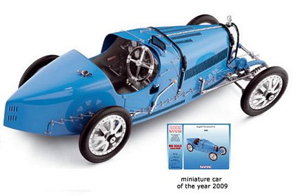 1924 Bugatti T35 Die-Cast 1:18 Scale Model Car by CMC