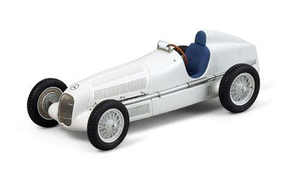 1934 Mercedes-Benz W 25 White Limited Edition Die-Cast 1:18 Scale Model Car by CMC