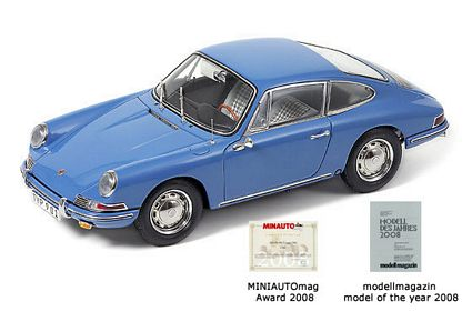 1964 Porsche 911 Sky Blue Limited Edition Die-Cast 1:18 Scale Model Car by CMC