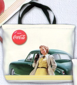 Coca-Cola Girl Large Tote Bag