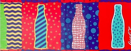 Coca-Cola Pop Art Wall Border