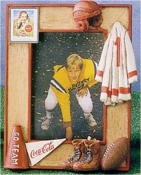 Coca-Cola Football Photo Frame