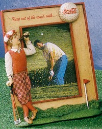 Coca-Cola Golf Photo Frame