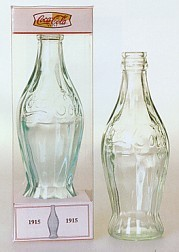 Coca-Cola 1915 Root Bottle Replica Bottle With Gift Box