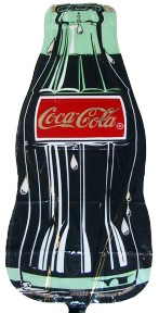 Coca-Cola Contour Bottle Balloon