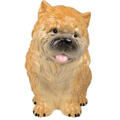 Chow Chow Puppy Cookie Jar