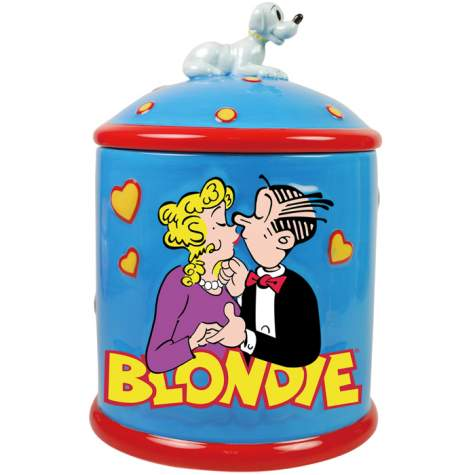 Blondie Comic Stip Cookie Jar