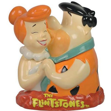 Flintstones Fred And Wilma Cookie Jar