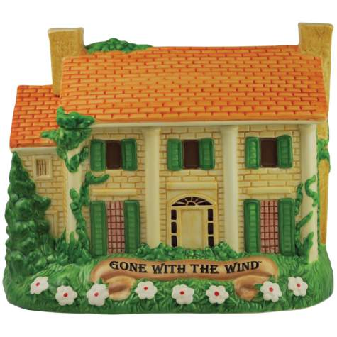 Gone With The The Wind Tara Manor Cookie Jar