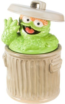 Oscar The Grouch Sesame Street Cookie Jar