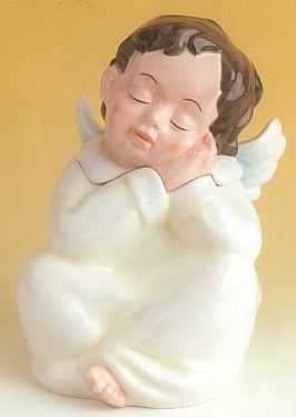 Cherub Cookie Jar