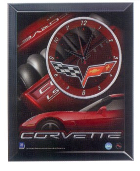 Corvette Quartz Wall Clock