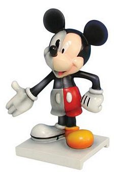 Disney Mickey Inspearations Mickey Through The Years Mickey Mouse Figurine
