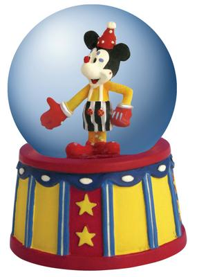 Disney Mickey Inspearations Let's Party Mickey Mouse Mini Waterglobe