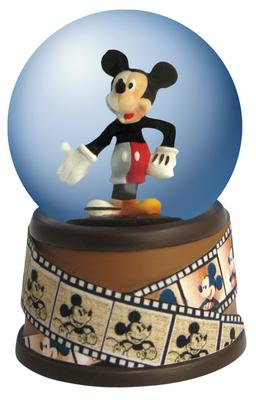 Disney Mickey Inspearations Through The Years Mickey Mouse Mini Waterglobe