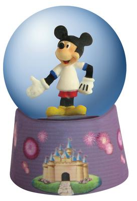 Disney Mickey Inspearations Speak For Mickey Mickey Mouse Mini Waterglobe