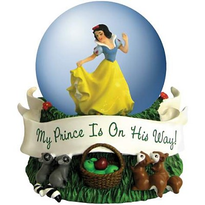 Disney Snow White My Prince Is On His Way Waterglobe