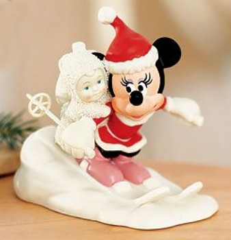 Minnie's Special Deliveries Snowbabies Figurine By Department 56