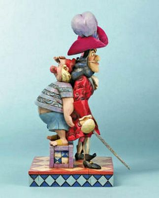 Disney Traditions Captain Hook And First Mate Smee Figurine By Jim Shore