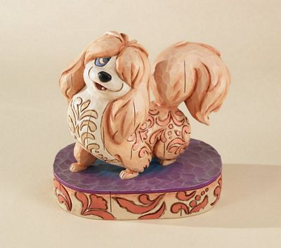Disney Traditions Peg From Lady And The Tramp Figurine By Jim Shore