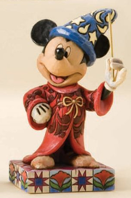 Disney Traditions Sorcerer Mickey Figurine By Jim Shore