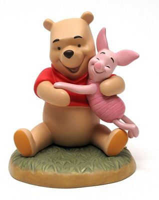 A Hug Feels Best When It's From You - Winnie The Pooh And Friends Figurine