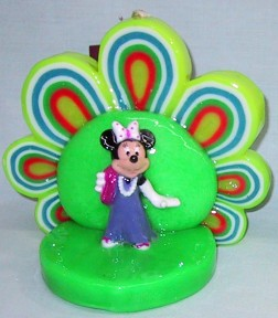 Minnie Mouse In The Spotlight Candle - Green