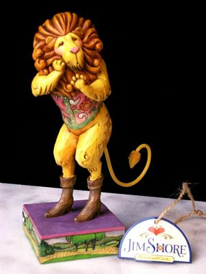 Jim Shore Heartwood Creek Wizard Of Oz Cowardly Lion Figurine