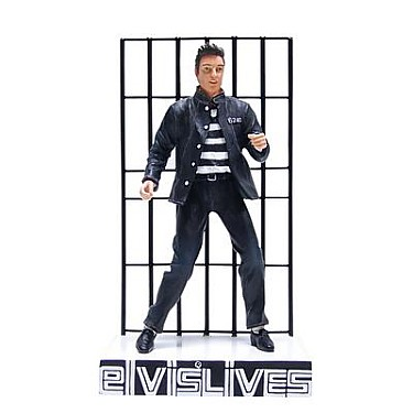 Elvis Presley Jailhouse Rock Bobble Figurine