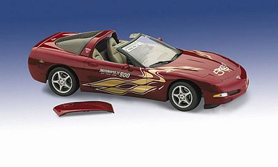 2003 50TH ANNIVERSARY CORVETTE INDY 500 PACE CAR LIMITED EDITION DIE-CAST 1:24 SCALE MODEL BY THE FRANKLIN MINT