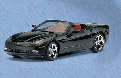 2005 CORVETTE C6 CONVERTIBLE LIMITED EDITION DIE-CAST 1:24 SCALE MODEL BY THE FRANKLIN MINT