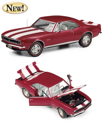 1967 Chevrolet Camaro Z/28 RS Hardtop Die-Cast 1:24 Scale Model By The Franklin Mint