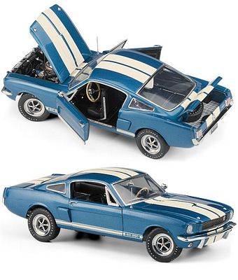 1966 Shelby GT-350 Limited Edition Die-Cast 1:24 Scale Model By The Franklin Mint