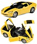 2008 Corvette Hertz ZHZ Coupe Limited Edition Die-Cast 1:24 Scale Model By The Franklin Mint