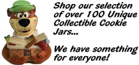 An Impressive Selection Of Unique Collectible Cookie Jars