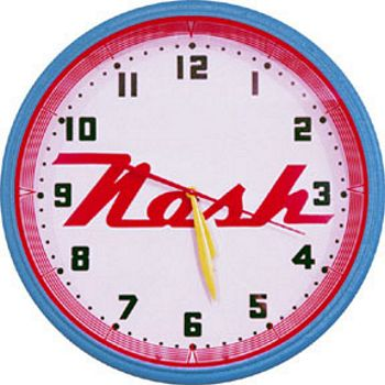 Nash Neon Wall Clock