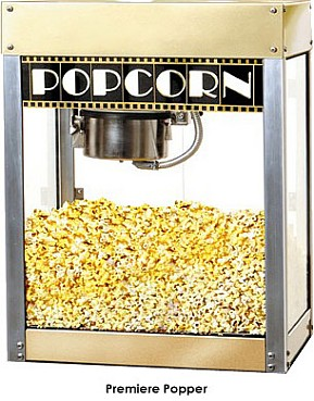 Premiere 6oz. Popcorn Popper By Benchmark USA