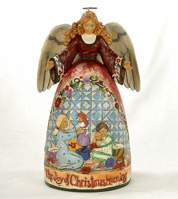 Jim Shore Heartwood Creek Angel Of Christmas Morn Figurine